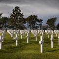 Omaha Beach, Soldatenfriedhof