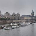 Dresden bei Regen am Tag I