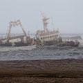 Wrack des Trawlers Zelia (2008)
