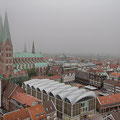 Lübeck - Blick vom Dom