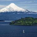 Lago Llannquihue mit Osorno