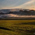 Zwischen Skogafoss und Vik; Blick auf den Myrdalsjökull