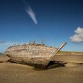 """An Bun Beag, Magheraclogher Beach, """"Bad Eddie's  Boat"""""""