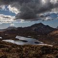 Knockan  Crag, Lochan an Ais