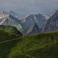Von der Bergstation Nebelhorn zum Laufbacher Eck