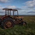 Traktor bei Saudanes