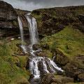 Hobit Hole Wasserfall auf Snaefellsness
