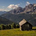 Blick vom Karnischen Höhenweg auf die Sextner Dolomiten