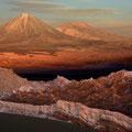 Sonnenuntergang im Valle de Luna III