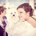 CANE AL MATRIMONIO A NAPOLI WEDDING DOG VILLA CLERMONT
