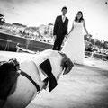 Sposi con il cane a Palermo Wedding Dog Sitter sicilia