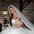 MATRIMONIO WEDDING DOG SITTER PESCARA  CASTELLO DI SEPTE