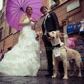 SPOSI CON IL CANE A ROMA WEDDING DOG