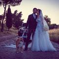 SPOSARSI CON IL CANE A ROMA WEDDING DOG SITTER
