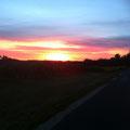 et ses couchers de soleil !