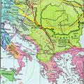 Seobe Slavena u 9. stoljeću.
