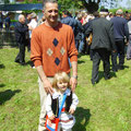Luka Studenović sa tatom Antom