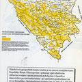 """Opštedruštvena svojina čini 53,3% (2,726.971 hektara od ukupne površine države (šume 35% pašnjaci 11%, ostatak su vode, putovi i dr. 7,1%). Površina zemljišta u svojini građana iznosi 46,7% (2,392.712 hektara) """"bijela površina"""" i pripada svim građanima"""
