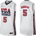 Баскетбольная майка НБА свингмен USA DREAM TEAM №5 ДЕВИД РОБИНСОН цена 2499 руб