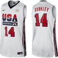 Баскетбольная майка НБА свингмен USA DREAM TEAM №14 ЧАРЛЬЗ БАРКЛИ цена 2499 руб