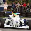 Freddy Killensberger präsentiert sein  Formel BMW-Auto