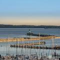 Stadthafen Sassnitz, längste Außenmole Europas