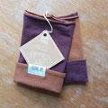 9: Gr. 2, aubergine-kupfer, Länge ohne Umschlag ca. 18cm