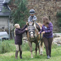 Jetzt ist Silke dran und Julia übernimmt Pony