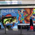 Leipziger Straße Graffiti Frankfurt Germany streetphoto by Mary Kwizness