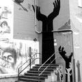 Leunabunker Höchst Graffiti Frankfurt Germany streetphoto by Mary Kwizness