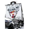 Cor Sandweg Graffiti Frankfurt Germany streetphoto by Mary Kwizness