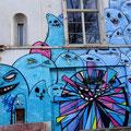 City Ghosts Berger Straße Graffiti Frankfurt Germany streetphoto by Mary Kwizness