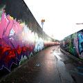 Hall of Fame Ratswegkreisel Graffiti Frankfurt Germany streetphoto by Mary Kwizness
