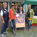 Unsere Mädels: Birgit, Elke, Heidi, Irene, Annette