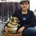 Edda Minck im April 2011 im Funtastik zur Lesung