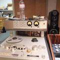 パラヴィチーニによるモディファイが行われた「Studer」テープマシン。