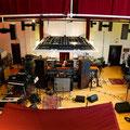 2014年、U2がレコーディングに使用した時の1コマ。