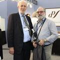 イギリスのオーディオ評論家 ケンケスラー氏とパラヴィチーニ氏