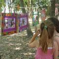 Exposition au Parc du Chateau