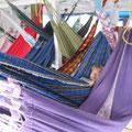 Schlafmöglichkeit an Deck auf dem Rio Negro: Sao Gabriel – Barcelos