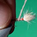 6 una volta realizzato il fuso di dubbing, si avvolge il corpo