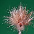 10 la disposizione delle fibre del ciuffo deve risultare radiale, quasi a centottanta gradi