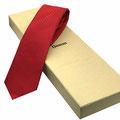 Edle Geschenkidee Logo Krawatte mit passender Verpackung