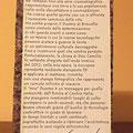 """[663] GIOVANNI VOLPI """"Dallo sfregio alla stampa"""" (retro)"""