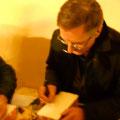 Fabio Civitelli disegna un Tex in primo piano