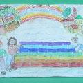 [420] MARIA ADELAIDE FRATTIN Muro arcobaleno