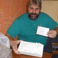 Giovanni Nahmias compra il mattone di Letizia Pedrazzi