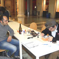 Otello Roscioni e Niccolò Storai a Bilbolbul 2013