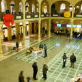 La splendida Sala Borsa di Bologna