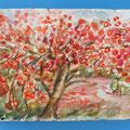 [470] MILA MANTOVANI 2. Albero in fiore